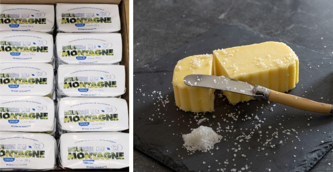 Premières fabrications de beurre pour notre filiale LMA