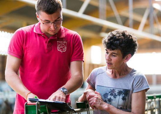 Le Technicien Production Laitière : l'interlocuteur privilégié des producteurs